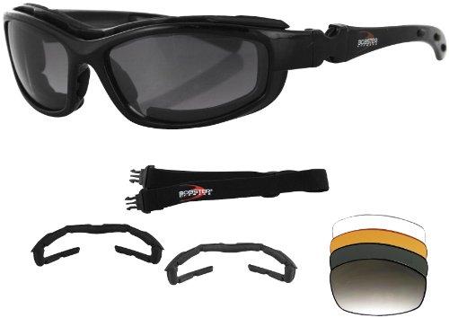 Zanheadgear Road Hog II Convertible Sunglasseses/Goggles (Black, One Size) Zanheadgear Road Hog