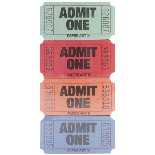 green admit one tickets - 1