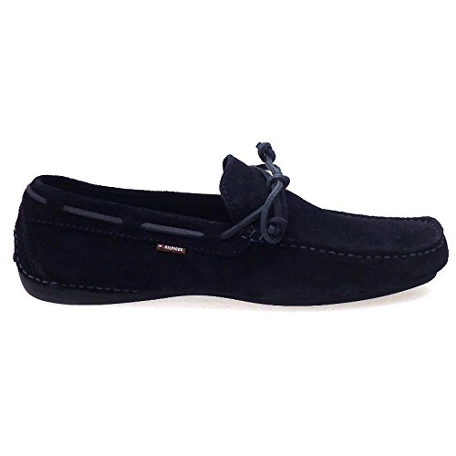Tommy Hilfiger Mocasines Azul Lazo Anthony4A: Amazon.es: Zapatos y complementos