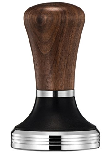 Diguo Elegance Wooden Coffee Tamper. Flat Espresso Tamper 58mm Portafilter. Stainless Steel Flat Height Adjustable Wooden Handle. Barista Espresso Tamper by Diguo (Image #8)