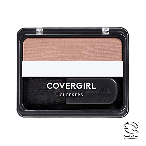 COVERGIRL Cheekers Blendable Powder Blush Soft Sable, .12 oz (packaging may vary)