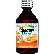 Centrum Liquid Adults (8 Fl. Oz. Bottle, Orange Tangerine Flavor) Multivitamin and Multimineral Supplement