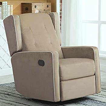 Terrific Amazon Com Franklin Serenity Swivel Rocker Recliner Cachet Squirreltailoven Fun Painted Chair Ideas Images Squirreltailovenorg