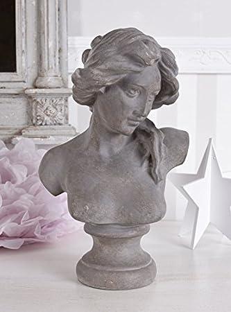 Mobiliar & Interieur JUGENDSTIL BÜSTE FRAUENBÜSTE Frauenkopf Vintage Kopf Mädchenbüste Shabby Chic Design & Stil