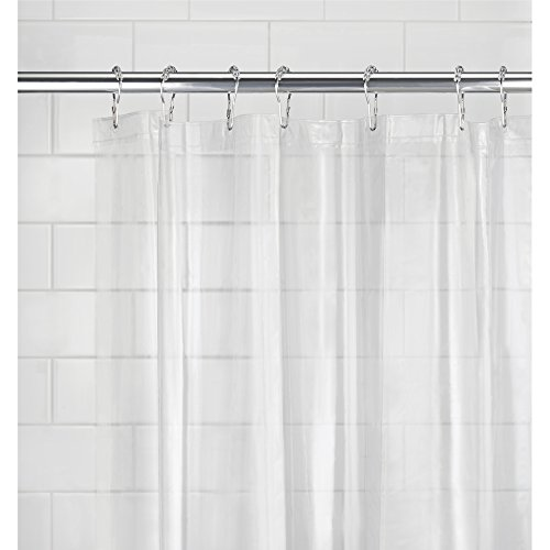 Mdesign Peva 3g Shower Curtain Liner Pack Of 2 Mold Mildew Resistant Odorless No