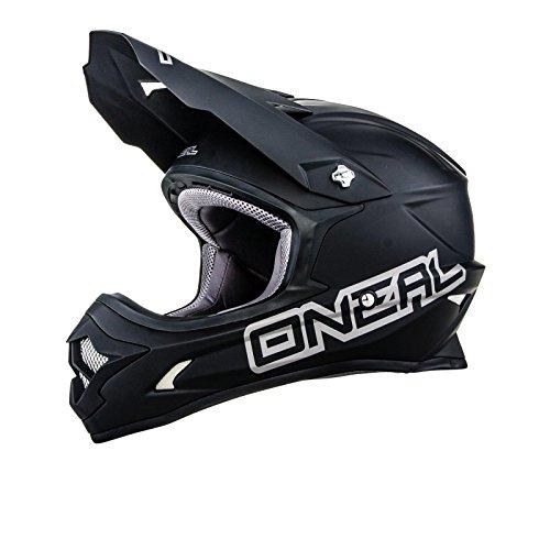O'neal 3 Series Motocross Enduro MTB Helm Matt schwarz 2016 Oneal: Größe: L (59-60cm)