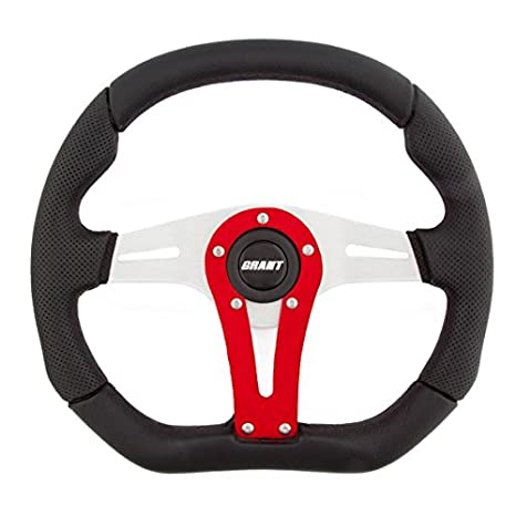 Grant 495 D-Series Racing Wheel with Red Vertical Spoke