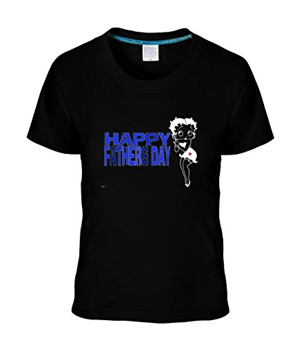 Gyrfalcons Women's Happy Father's Day Graphic custom tee black