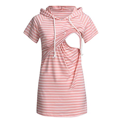 Sherostore ♡ Nursing Nightgown Nightdress Hospital Gown Delivery Labor Maternity Pregnancy Soft Breastfeeding Dress - Balconette Invisible Look