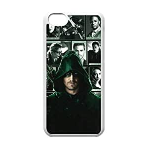 C-EUR Print Green Arrow Pattern Hard Case for iPhone 4/4s