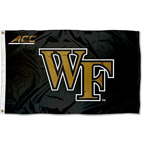 (College Flags and Banners Co. Wake Forest University Demon Deacons Acc 3x5 Flag)