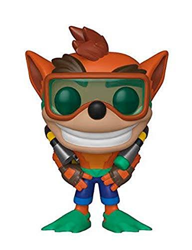 Figura Funko Pop! Crash Bandicoot fato mergulho Scuba Gear