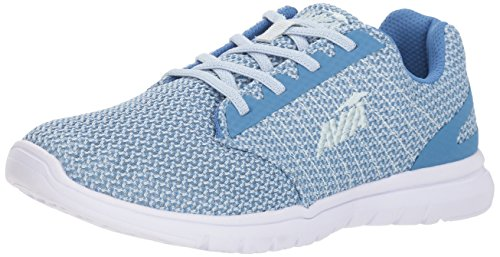 Avia Women's Avi-Solstice Walking Shoe, Chiffon Blue/White, 7.5 M US