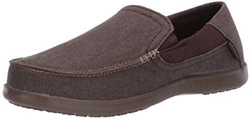 Crocs Men's Santa Cruz 2 Luxe Slip on Comfortable Loafers Slip-On