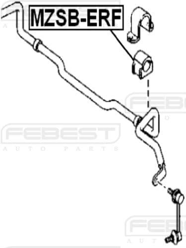 Eg21-34-156D Eg2134156D Front Stabilizer Bushing D27 For Mazda