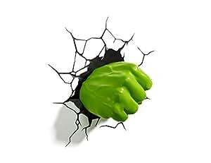 3D Light FX Marvel Hulk Right Fist 3D Deco LED Wall Light