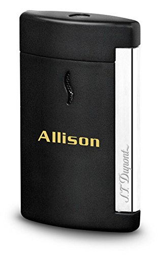 Personalized S.T. Dupont Minijet Matte Black Torch Flame Lighter with Free Engraving by S.T. Dupont (Image #4)