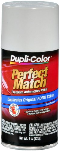 (Dupli-Color BFM0229 Oxford White Ford Exact-Match Automotive Paint - 8 oz. Aerosol)
