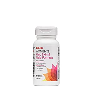 GNC Hair Skin and Nails Formula, 120 Count