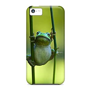 Durable Tubby Frog Back Case/cover For Iphone 5c
