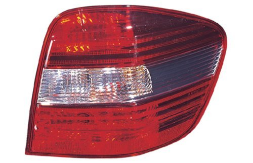 (Mercedes M Class (w/o AMG & Sport) Replacement Tail Light Assembly - Passenger Side)