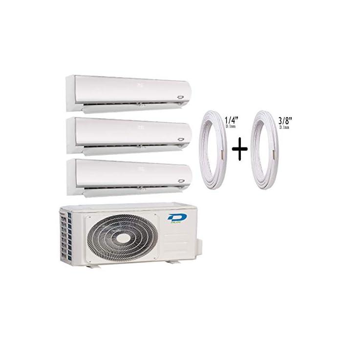41Yr9lHRWbL Aire acondicionado MultiSplit Climatizador Inverter Trial Gas R32 Compresor Sharp D.FROZEN360 Función Sleep; Bomba de calor; Auto Swing; Standby Pantalla retroiluminable; función deshumidificador; clase A +++.