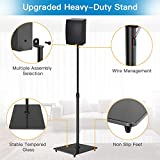 PERLESMITH Universal Speaker Stands with Tempered