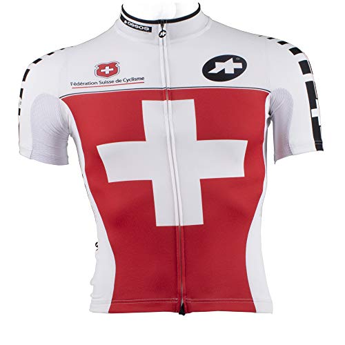 assos Jersey Oficial SS.EQUIPESUISSE Xtra Small Red Swiss a0f3aacfe