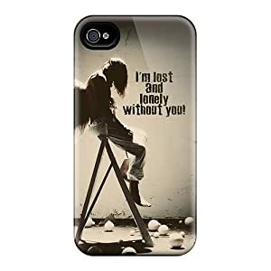 For Dana Lindsey Mendez Iphone Protective Case, High Quality For Iphone 4/4s Im Lost Wdout You Skin Case Cover
