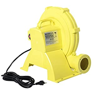 Costzon Air Blower Pump Fan 950 Watt 1.25HP For Inflatable Bounce House Bouncy Castle by Costzon