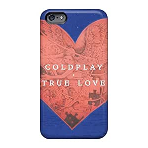 Protector Cell-phone Hard Covers For Iphone 6plus (ccj10517Cmww) Allow Personal Design HD Coldplay Band Series