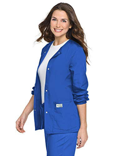 - Landau ScrubZone 75221 Warm-Up Jacket Royal Blue S