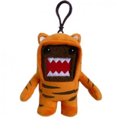 Licensed 2 Play Clip On Domo Tiger Plush by Licensed 2 Play ()