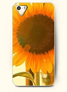 OOFIT phone case design with Sunflower under the sun for Apple iPhone 5 5s