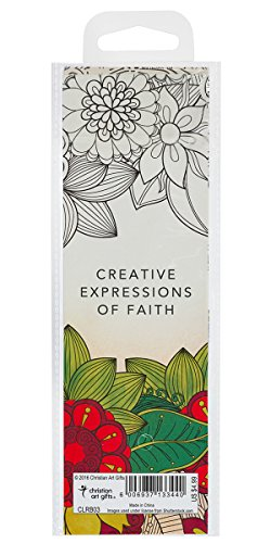 Creative Expressions of Faith Collection #3: Bookmarks to Color and Share – 5 Pack
