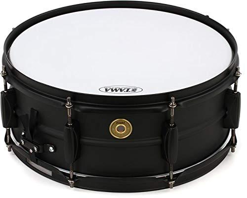 Tama Steel Snare Drum - 5.5'' x 14'' - Black/Black