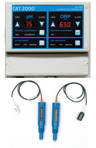 Hayward CAT-2000 CAT 2000 Automated Water Chemistry Controller with Sensors by Hayward