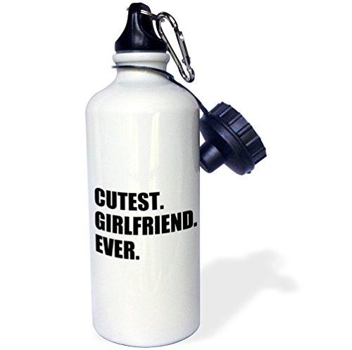 3dRose wb 185005 1 Girlfriend Ever Funny Romantic