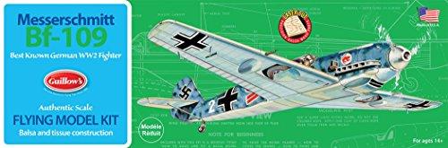 - Guillow's Messerschmitt Bf-109 Model Kit