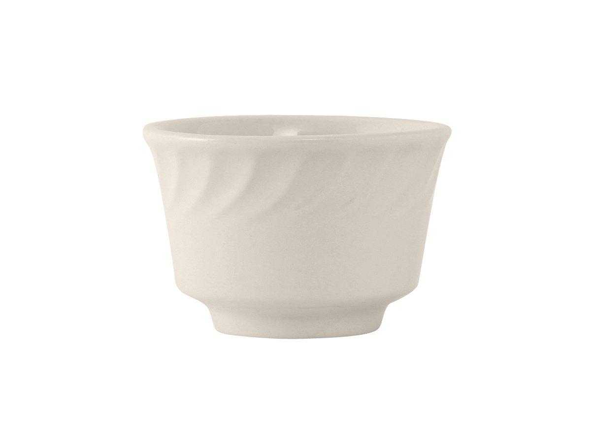 Tuxton MEB-0802 Vitrified China Meridian Bouillon, 8 oz, 3-7/8, Eggshell (Pack of 36),