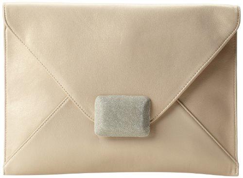 Halston Heritage Envelope EL280006N3 Clutch,Pale Gold,One...