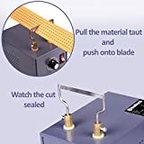 RoMech Electric Rope Cutter with Adjustable Power - Hot Knife Thermal Blade for Braid Fabric Webbing Belting Ribbon- Bench Mount Cutting Tool Kit – Heal Sealer