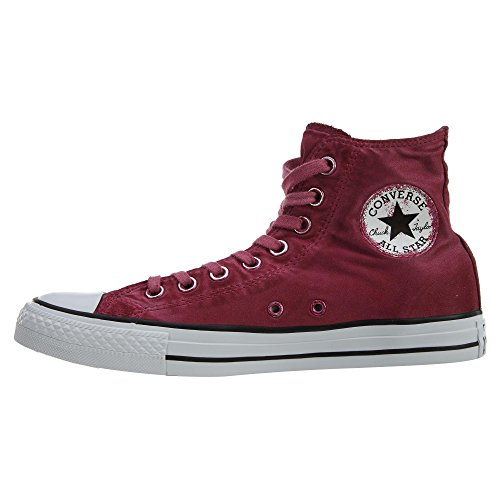 ConverseCHUCK TAYLOR ALL STAR KENT WASH - Zapatillas altas - rhubarb/black/white