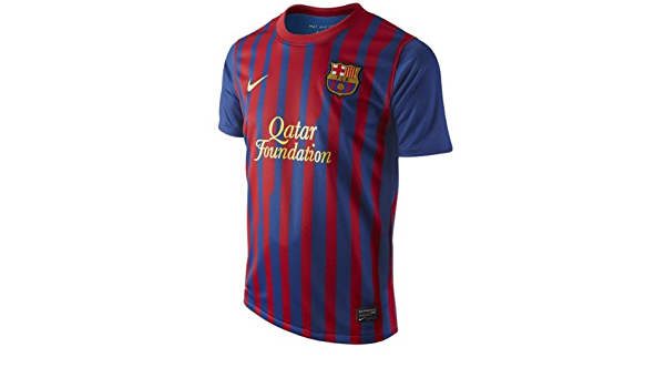 amazon com barcelona boys home jersey 2011 12 cycling jerseys clothing barcelona boys home jersey 2011 12