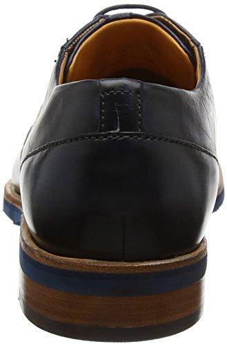 Daniel Hechter Herren 812412011100 Derbys Blau (Dark Blue)