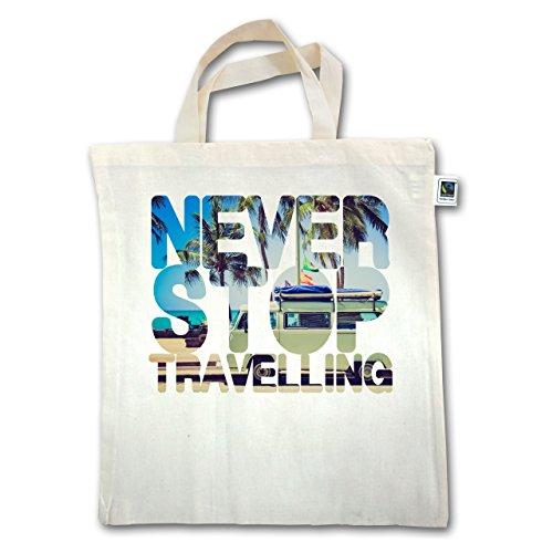 Henkel Palmen Jutebeutel Stop Meer kurzer Natural Statement Unisize Never XT500 Shirts Travelling xS7qnwaXAP