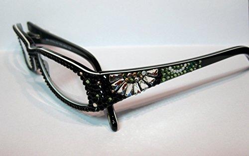 Reading Glasses 2.00 Jimmy Crystal of NY with Sparkling Swarovski Elements