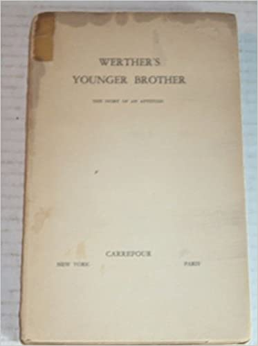 Amazon.com: WERTHERS YOUNGER BROTHER. The Story of an ...