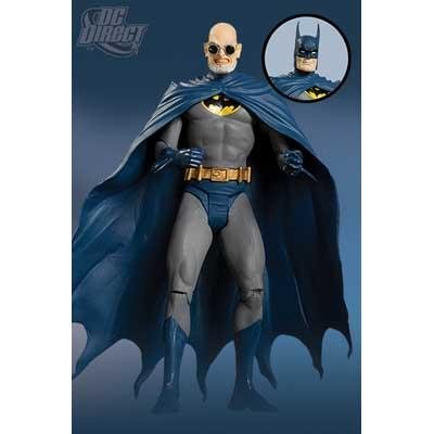 DC Direct Secret Files Series 3: Batman Rogues Gallery 2 Hugo Strange (With Alternative Batman Head)