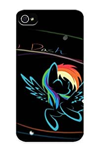 Perfect Fit TdGJQIo659UlzsR Rainbow Dash Case For Iphone 4/4s With Appearance